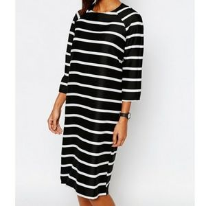 Boohoo Slouchy Midi Dress